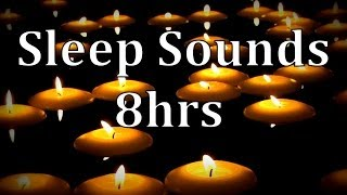 """getlinkyoutube.com-8hrs """"Natural Rain Sounds"""" with of Floating Candles """"Get to Sleep Fast"""""""