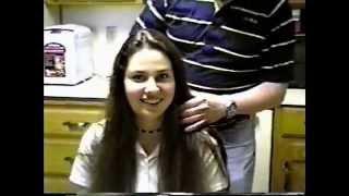 getlinkyoutube.com-Michelle gets a haircut - pixie cut