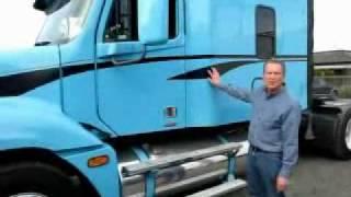 getlinkyoutube.com-2005 Freightliner Columbia - Sleeper Truck For Sale
