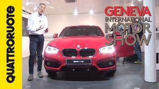 getlinkyoutube.com-BMW Serie 1 2015, l'ultima a trazione posteriore | Salone di Ginevra 2015