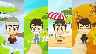 getlinkyoutube.com-Learn Four Seasons in Arabic for Kids - تعلم الفصول الاربعة باللغة العربية للأطفال