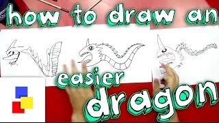 getlinkyoutube.com-How To Draw A Dragon (For Super Young Artists)