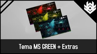 Um Dos Melhores Temas Para Windows 7,  Theme Ms Green + Extras!