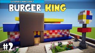 getlinkyoutube.com-Minecraft: Como Construir um Burger King (Parte 2)