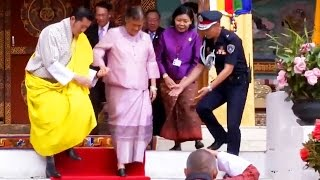 "getlinkyoutube.com-► ""สมเด็จพระเทพฯ"" เสด็จฯ เยือน  ""ภูฏาน"" 3/4 👑"