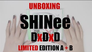 getlinkyoutube.com-Unboxing: SHINee DxDxD Japanese Full Album (Limited Edition A + B)