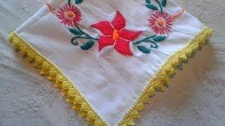 getlinkyoutube.com-como tejer orilla  de servilleta para principiantes