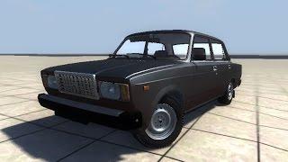 getlinkyoutube.com-Lada  VAZ 2107 Crashtest  BeamNG Driver + downloadlink