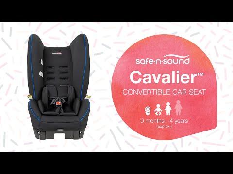 Safe-n-Sound Cavalier Convertible Car Seat - Newborn to 4 Years
