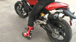 getlinkyoutube.com-Ducati 696 with Termignoni exhaust
