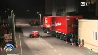 getlinkyoutube.com-Michael Schumacher con la Ferrari F300 nello studio di Porta a Porta