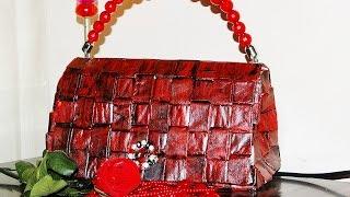 getlinkyoutube.com-BOLSO DE PAPEL. Paper bag