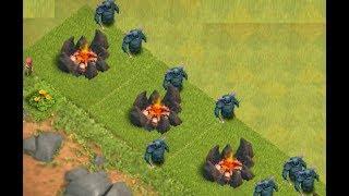 getlinkyoutube.com-Clash of Clans - 8 P.E.K.K.A Attack