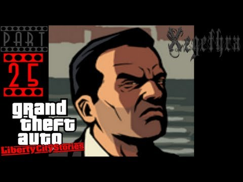 GTA Liberty City Stories Playthrough - PS2 - Part 25 - [With Commentary]