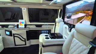 getlinkyoutube.com-Genfer Autosalon News, KLASSEN VW T5 VIP Business Luxus Van, Автосалон Женева 2013