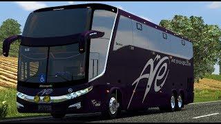 getlinkyoutube.com-LD Paradiso G7 1600 + Passengers Mod + Trafico buses | Euro truck simulator 2 | 1.9.x -- 1.10.x
