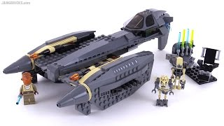 getlinkyoutube.com-LEGO Star Wars General Grievous' Starfighter from 2010! set 8095