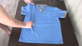 getlinkyoutube.com-Как быстро сложить футболку. (how quickly fold shirt)