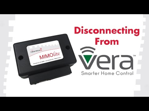 How to Remove Devices From Vera: FortrezZ MIMOlite
