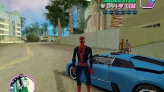 getlinkyoutube.com-GTA VICE CITY - VENON & SPIDERMAN