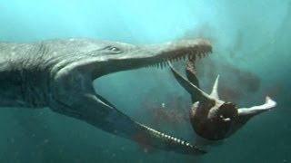 getlinkyoutube.com-Predator X hunts in deep water - Planet Dinosaur - BBC