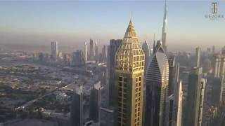 Welcome to the world's tallest hotel - GEVORA Hotel, Dubai