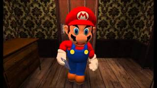 getlinkyoutube.com-Mario plays Ao Oni (PewDiePie Parody)