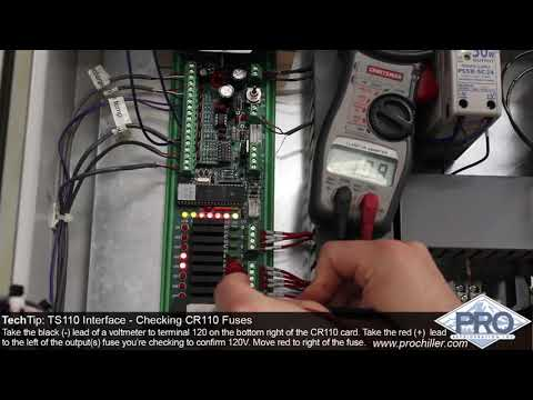 Pro Refrigeration Tech Tip: Checking CR110 Fuses