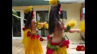 Hawaiian Birthday Party - Beautiful Hula Dancers