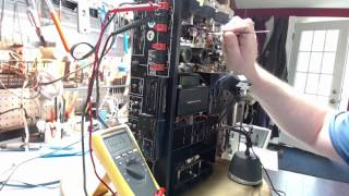 getlinkyoutube.com-Part4 Marantz 2250B restoration - Audio adjustments