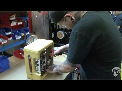 Fender Factory Tour: How to Build a Handwired Amp