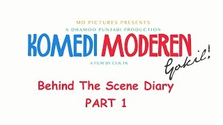 getlinkyoutube.com-KOMEDI MODEREN GOKIL - Behind The Scene Part 1