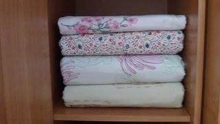getlinkyoutube.com-Как гладить постельное белье. Пододеяльник