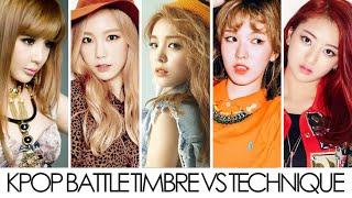 getlinkyoutube.com-Kpop Battle Timbre VS Technique (Female)