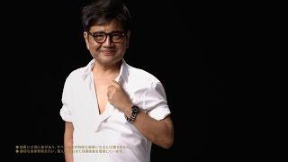 "getlinkyoutube.com-森永卓郎、20kg減量で""ちょいワル""オヤジに変身 ライザップ新CM"
