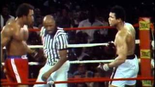 getlinkyoutube.com-George Foreman vs Muhammad Ali - Oct. 30, 1974  - Entire fight - Rounds 1 - 8 & Interview