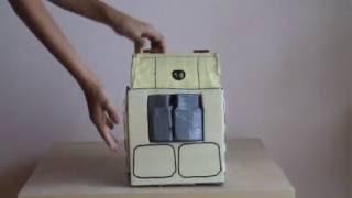 getlinkyoutube.com-Paper transforming Wall-e