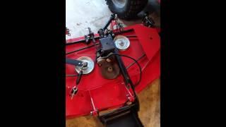 "getlinkyoutube.com-Simplicity Legacy XL 61"" mower deck issues"