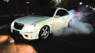 getlinkyoutube.com-Mercedes Benz E55 AMG Kompressor W211 by vk.com/AutoLifeKazakhstan