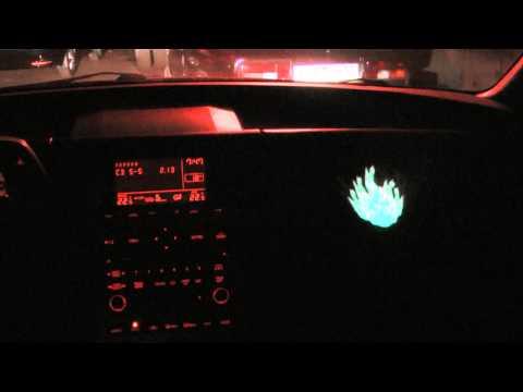 Звукоактивная панель в авто