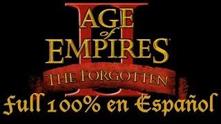 Descargar e Instala nueva expansión Age of Empires II The Forgotten
