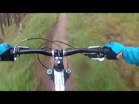 Glenlivet Mountain Bike Trail Centre Scotland. Red with Black sections