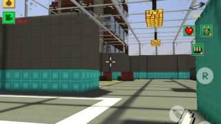 [Block Force - Pixel Style Gun Shooter Game] Knife mode!