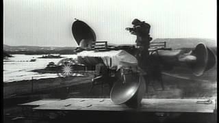 getlinkyoutube.com-German Invasion of Norway during World War II. HD Stock Footage