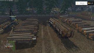 getlinkyoutube.com-Farming Simulator 2015 Logging with Moose on RockWood