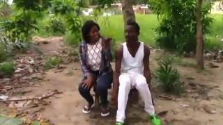 getlinkyoutube.com-Liberian Comedy: Angel Micheal beat wife for rejecting Jay-z