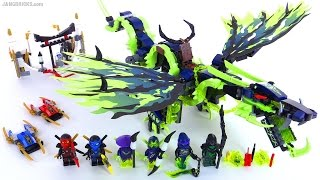 getlinkyoutube.com-LEGO Ninjago Attack of the Morro Dragon reviewed! set 70736