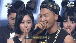 getlinkyoutube.com-TAEYANG - 'INTRO + 눈,코,입(EYES,NOSE,LIPS)' 0612 M COUNTDOWN: NO.1 OF THE WEEK