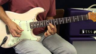 How To Play - Foreigner - Cold As Ice  - Guitar Solo - Guitar Lesson - Tutorial width=