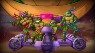 getlinkyoutube.com-Xbox 360 Longplay [018] TMNT Turtles in Time Re-Shelled (2P)